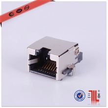 2x1 rj45 shield connector 2x1 stacked rj45 connector 1x2 rj45 connector