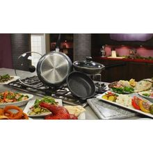 nonstick frying pan gray ceramic frying pan