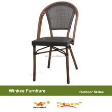 Cheap Outdoor Aluminium Rattan Dining Chair