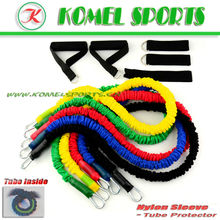 66lbs Latex Resistance Bands With Nylon Cover