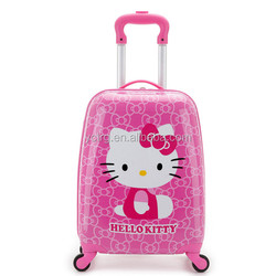 Hot sale Cartoon Cute Hard case PC Children Luggage