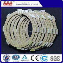 China Manufacture motorcycle spare parts clutch disc clutch fiber BAJAJ