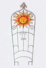 Jardin en métal décorations soleil Face grimper Pergola