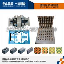 Los mejores precios de ventas dk12-15cnew bordillo de hormigón de cemento bloque del molde