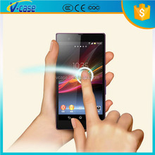Ultra thin 9h hardness explosion proof anti shock HD screen protector glass for sony