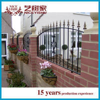 pictures of wrought iron fences for house or garden