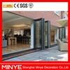 thermal break aluminum door with heat insulation/folding door exterior