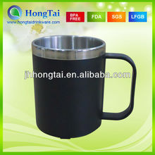 Inner Stainless Steel Outside AS Plastic Coffee Cup Water Mug