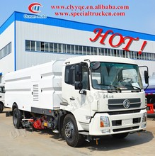DongFeng High quality! 4x2 road sweeper vehicle, dust cleaner road sweeper with wash function, road cleaning vehicle for hot sal