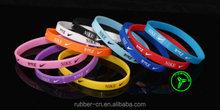 sport wrist band / personalized silicone wristband