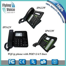 voip provider asterisk compatible voip telephone POE optional with openvpn/pptp IP622