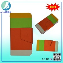 Wholesale smart newest leather flip cover wallet case for htc droid dna
