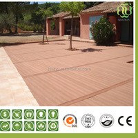 wpc hollow decking floor for wpc house