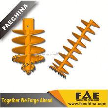 FAECHINA-Drilling Dia.1000mmcontinuous flight auger- CFA auger series
