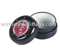 Round shape tinplate Jewelry box