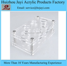 China manufacturer wholesale acrylic desk cup holder dispensers