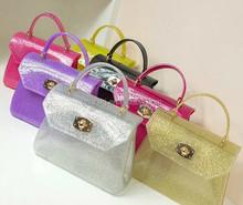 Hot selling popular christmas handbag Cheap hobo tote genuine leather ladies handbags gray tote handbag