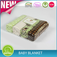2015 fashionable new design high quality cotton muslin swaddle blanket