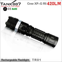 NO.1 manufacturer producing 300 meters distance rechargeable led flashlight