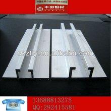 Personnalisé sablé anodisé profilés en aluminium alliage 6063 / 6061 / 60660 / 6082 largement utilisé