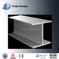 Welded structural carbon steel h beam