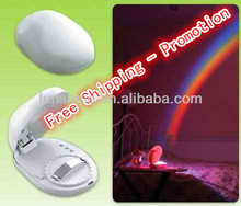Creative Decorative Rainbow LED Projector Night Light for Kids