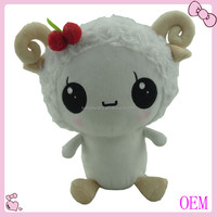 plush lamb toy with ASTM testing stuffed toy
