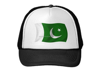 2015 new fashion cheap cute Pakistan flag hat accept small order