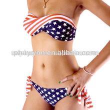 sexy girl micro bikini swimwear,sexy american flag swimwear