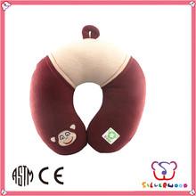 GSV ICTI Factory custom popular soft cute infant neck pillow manufacturer