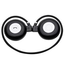 Mini foldable portable headphone headset earphone with bluetooth handsfree function