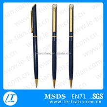 LT-W732 popular style metal twist pen advertising cheap pen