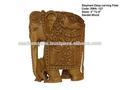 En elefante de madera de sándalo, los elefantes en madera de sándalo, elefante de madera de sándalo