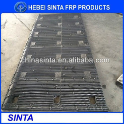 New Product, BAC cooling tower fill/Best sales 1330mm width*any length/BAC black round PVC cooling tower fill supplier