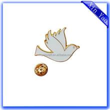 Factory custom made metal promotion animal shaped emblem lapel pin