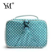 2015 Fashion Promotional Nylon Wash Folding Travel Cosmetic Bag Wholesale Cheap