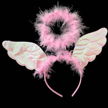 Fashion small angel wings for crafts cheap angel wings QFW-5074