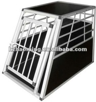 Big single door Alu dog cage