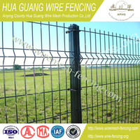 Cheap welded wire mesh fence panel / sheet metal fence panel /panel fence