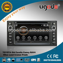 ugode in car stereo DVD GPS player for car Toyota Terios 2006-2010 AD-6012