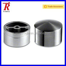 End Cap & Adapter, Stainless Steel Fitting for Hardwood Handrail