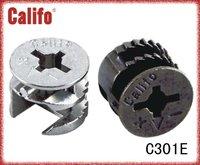 Furniture bolt connecting/joint connector/mini-fix cam C301E