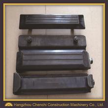 EX400-5,EX450,EX550 rubber track pad crawler machinery undercarriage parts of crawler excavator