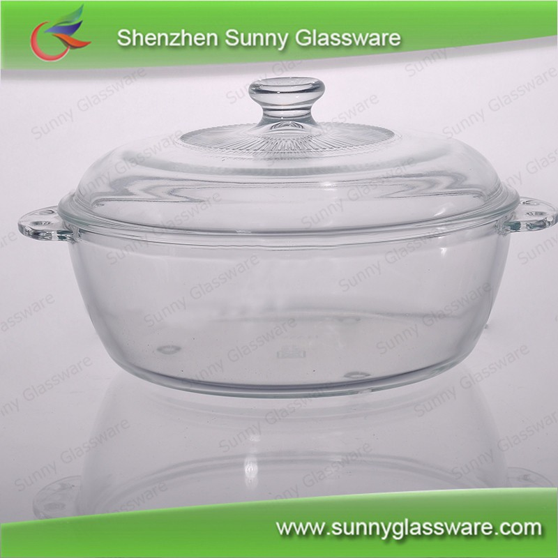 Wholesale microwave oven bowls glass bowls with lid