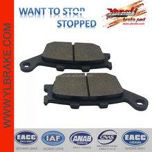 brake pad for honda cb750/ hornet 600/cbR 1000;brake pad for kawasaki z750;brake pad for SUZUKI sv 1000/sv650;SCOOTER brake pad