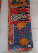 Wholesales Indian vintage kantha Quilt Reversible 100% cotton Quilts/Throw/Blanket/Gudari