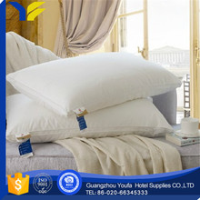 airplane made in China massage double stitching goose down pillow