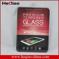 Professional manufacture slim tempered glass screen protector for iPad