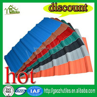 Building materials prices buy pvc roof sheet from china supplier
