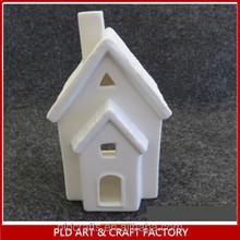 ceramic halloween house